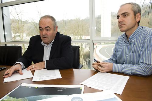 Xabier Mutuberria y Miguel Encabo (Orona)
