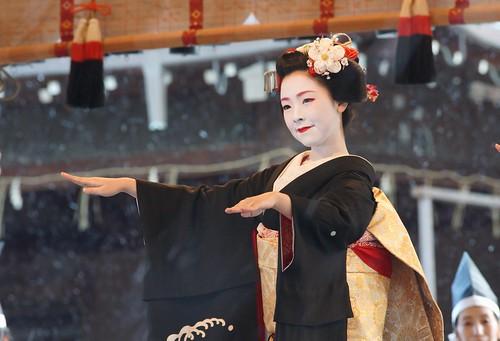 京都の花(宮川町歌舞会)/八坂神社節分