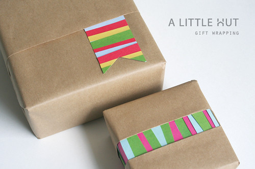 just scraps - gift wrapping