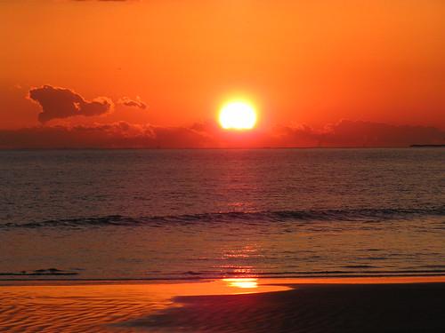 ocean sunset sea sky beach pacificocean shore sunsetlight flickraward