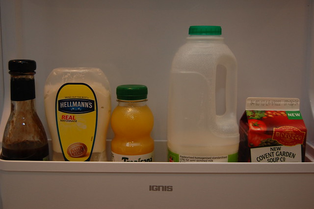 29.Inside your fridge