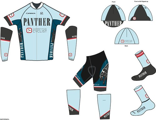 Team Panther p/b Competitive Cyclist kit