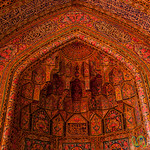 Persian Design, Pink Mosque - Shiraz, Iran