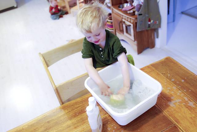 baby doll's bath