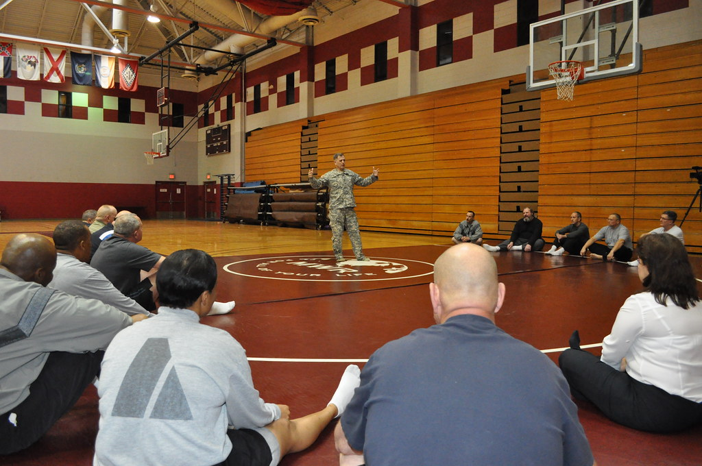 IMCOM commander teaches customer service through combatives  02062012
