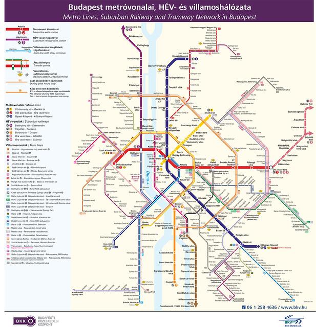 Transportes públicos de Budapest