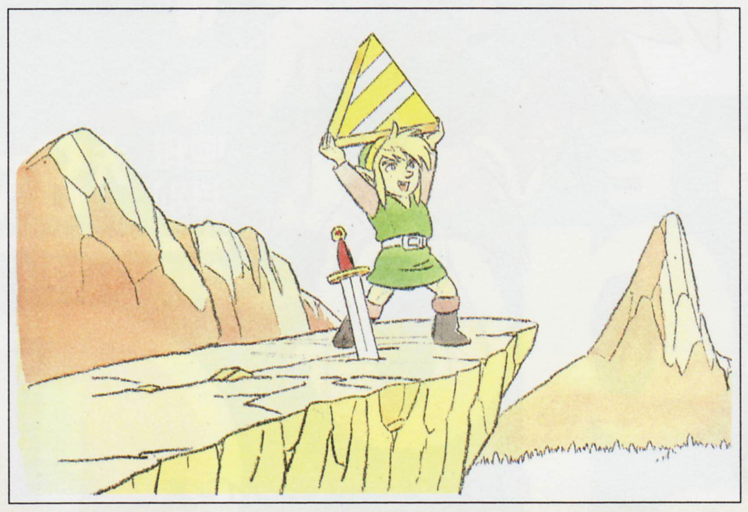 LoZ Triforce of Wisdom