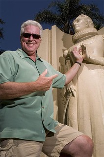 Huell Howser in Anaheim