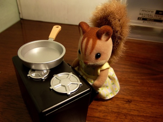 cooking squirrel