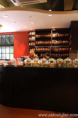 Interior, Antipodean Café