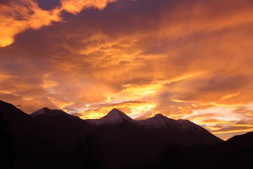 dawn sunrise eos 500d