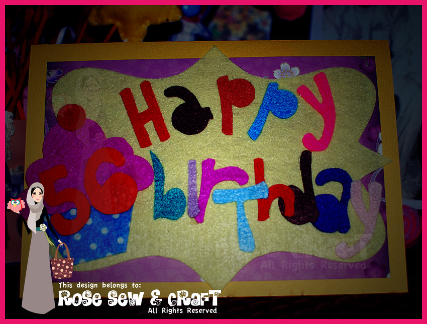 birthday card - outside