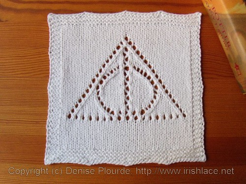 deathly hallows washcloth