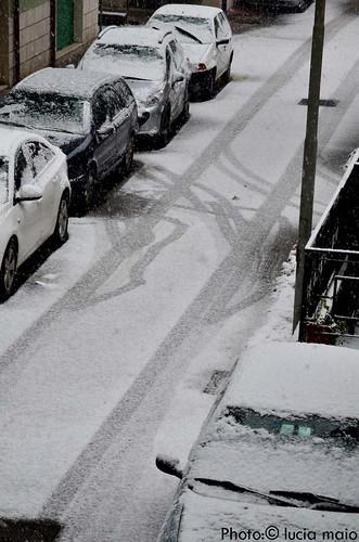Neve a Benevento
