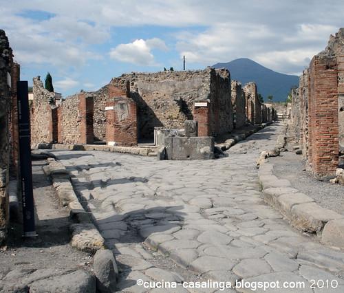 Kreuzung Richtung Porta Ercolano