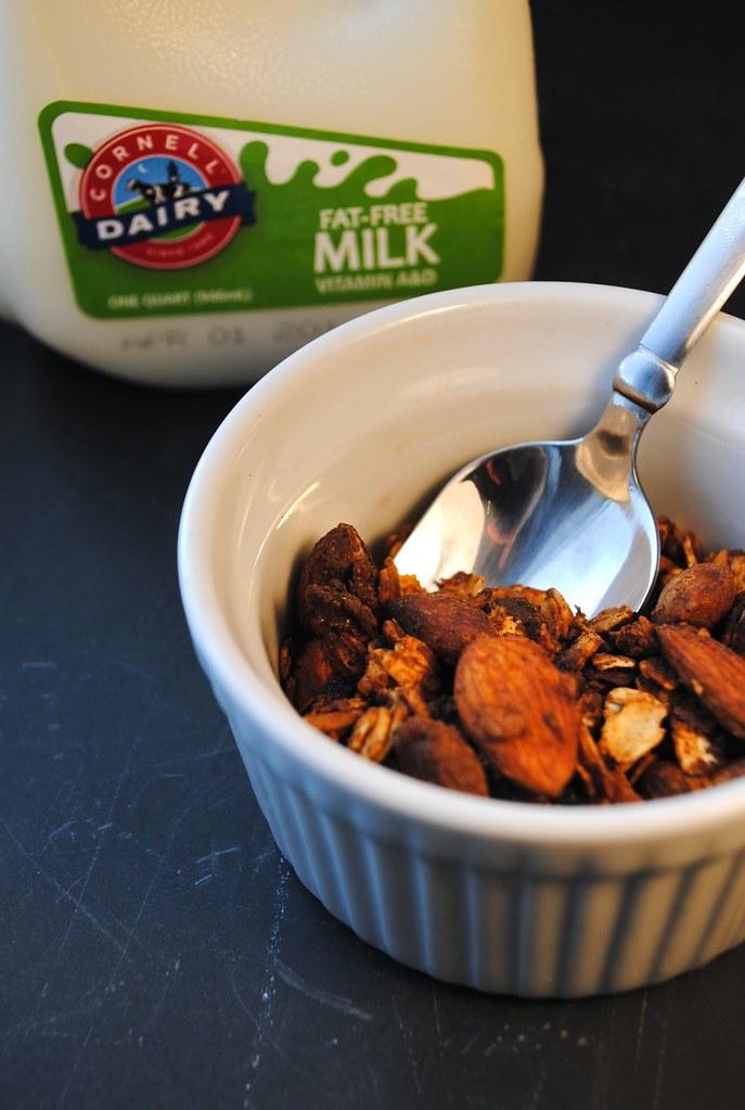 granola & milk 5