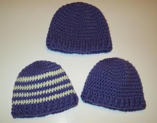Baby Ribbed Band Hats
