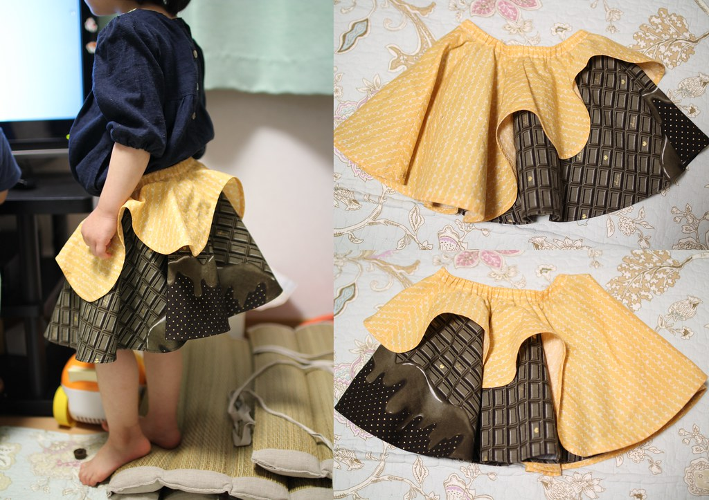 KUNPOOTLE(くんぷうとる)_チョコレートスカート5