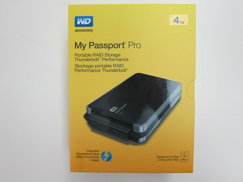 Western Digital My Passport Pro - Box Front