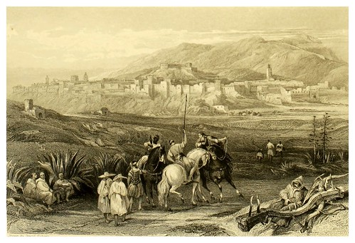 008-Tetuan-Picturesque views in Spain and Morocco…Tomo II-1838-David Roberts
