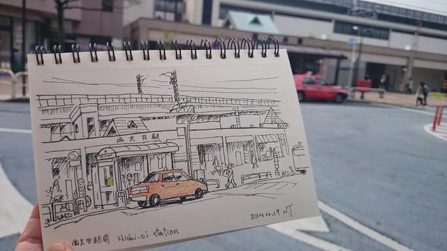 西大井駅前 -1