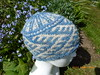 Blue stranded hat May 16