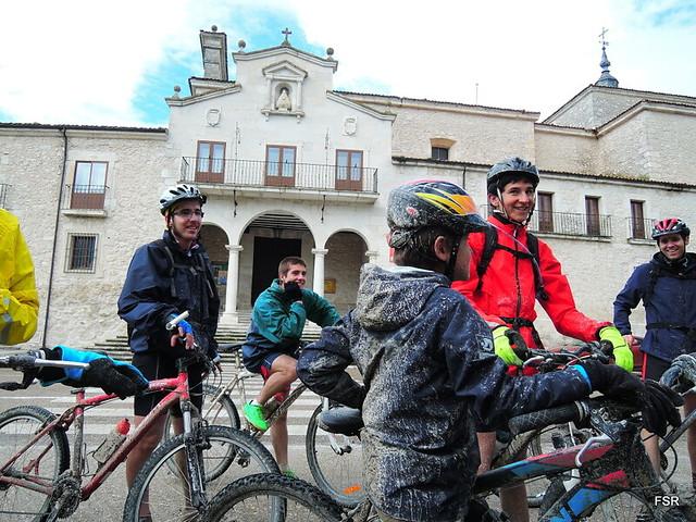 Romería al Henar en bici