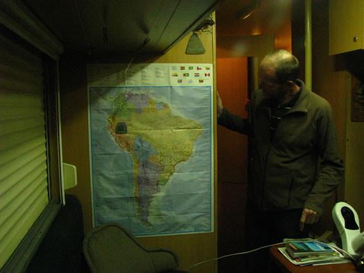 Los mapas de Peter y Els