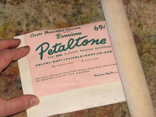 Vintage Crepe Paper 004