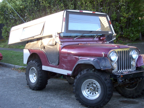 Custom Jeep CJ-5 Removable Hardtop by lee.ekstrom