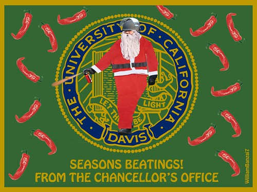 UC DAVIS CHRISTMAS CARD 2011 by Colonel Flick