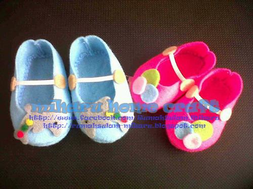akira & miharu baby shoes