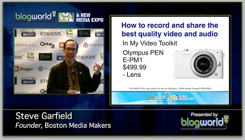 In My Video Toolkit: Olympus PEN E-PM1 #BWELA #PENREADY by stevegarfield