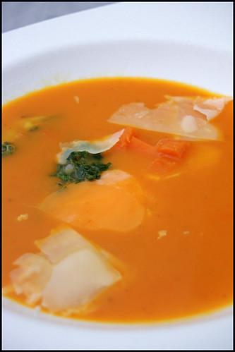 6411523633 48c119e5be Soupe de courge butternut rôtie de Glynn Purnell