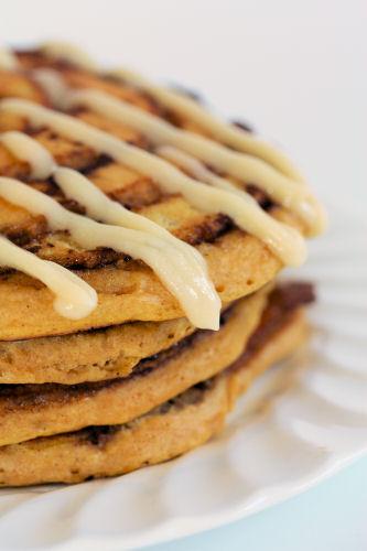 Pumpkin Cinnamon Roll Pancakes 3441 R
