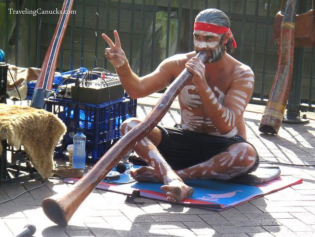 Street Performer in Sydney, Australia