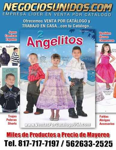 4581bdf970194 Moda Infantil Ropas para Niños Comprar Ropa por Internet Venta por Catalogo  2 Angelitos Negocio Internacional USA