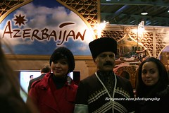 The new stand of Azerbaijan in Bazar Luxembourg