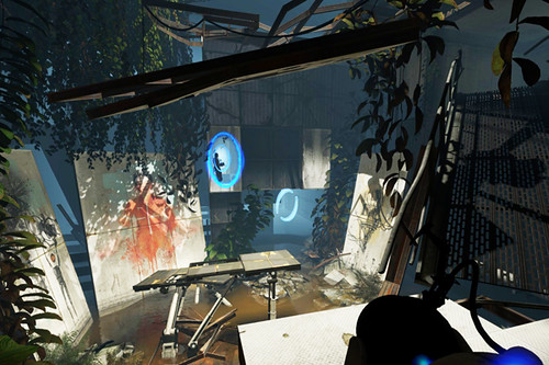 Portal2 intro stage