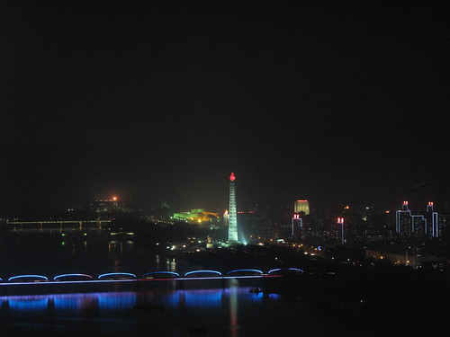 Pyongyang at Night