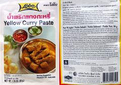 gele currypasta van Lobo
