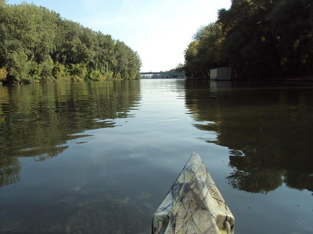 En canoa por el río Bodrog