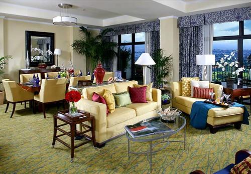 Marriott Newport Beach Hotel Suite