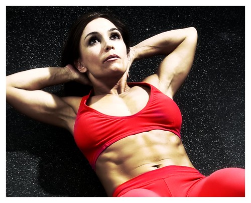 Abs are made in the kitchen, but abs exercises help strengthen the core!