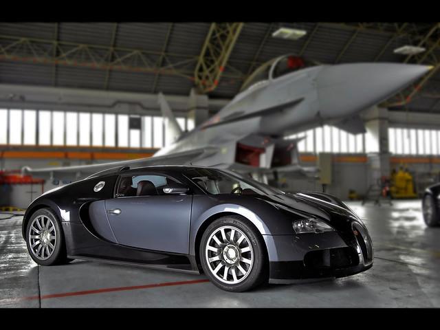 bugatti veyron vs fighter jet dof flickr photo sharing. Black Bedroom Furniture Sets. Home Design Ideas