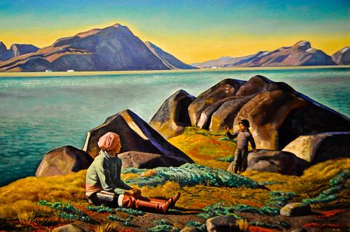 summer art museum 1932 painting landscape virginia us kent gallery museu fine arts musée richmond musee m va greenland rockwell museo muzeum müze vmfa richmand museumuseum