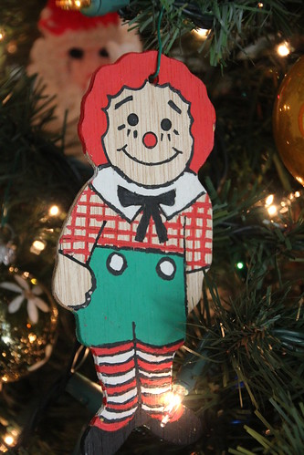 Raggedy Andy Ornament