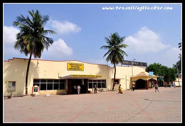 Hampi: Hospet Rail Station