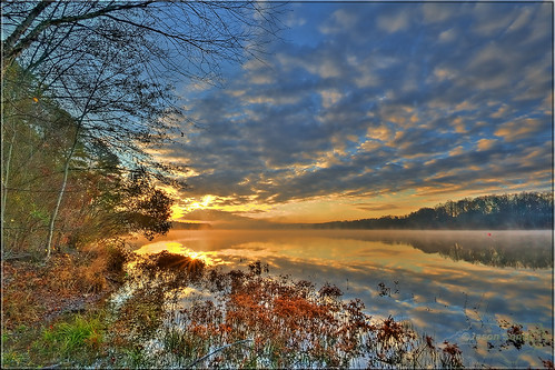 winter sunrise northcarolina raleigh 2011 lakewheeler jasonsents