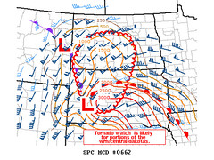 SPC Bowdle, South Dakota - Mesoscale Discussion - May 22